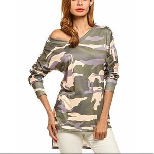 Off duty army blouse