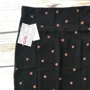 Lularoe small polka dot Cassie skirt!❤️ Jacquard~