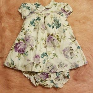Floral print dress (New)