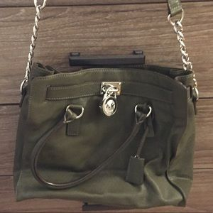 Michael Kors large soft leather satchel