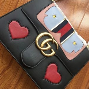Gucci Marmont Large GG Bag