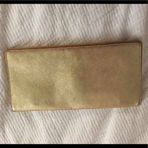 Halogen gold wallet