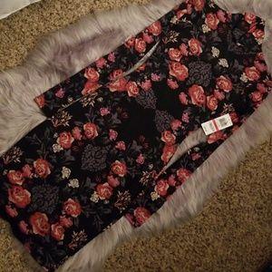 NWT Material Girl flowered mesh dress