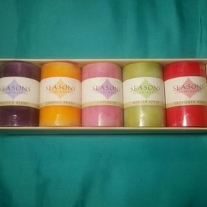 5-Color Scented Candles