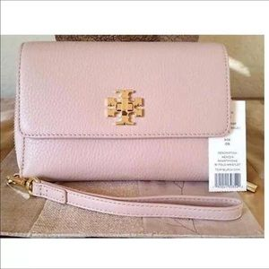 TORY BURCH TRI FOLD WALLET. SEND OFFERS