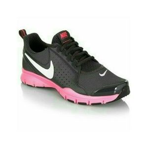 Woman's Nike Athletic Pink Black Season Trainers