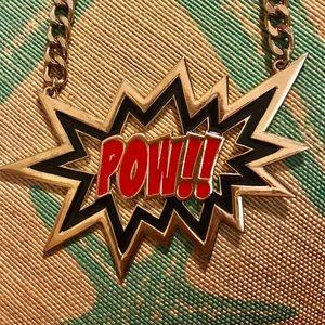 POW!! Pop art necklace