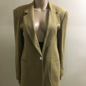 100% Silk Blazer Jacket