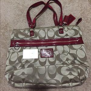 New coach poppy bag