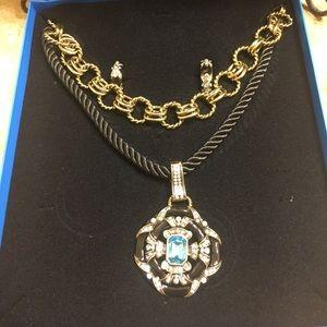 Heidi Daus Newport Chic Crystal jewelry set