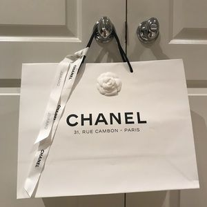 Chanel Rue Cambon Shopping Bag