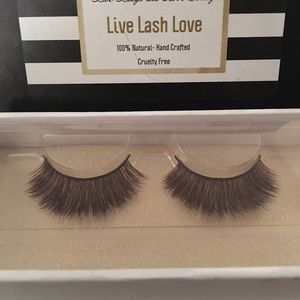 All Natural and Hand Crafted Sable Strip Lashes