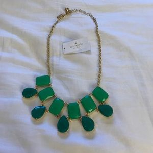 Kate Spade Vegas Jewels: Emerald Green Necklace