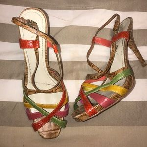 Colorful size 11 shoes