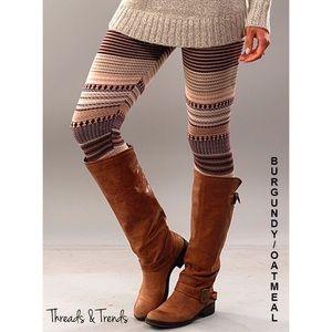 🆕🌸 Sweater Knit Leggings