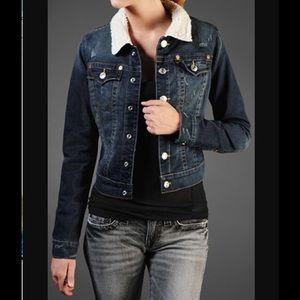 True religion Emily Sherpa denim jacket