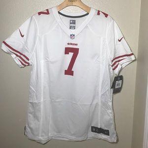 49ers Kaepernick Jersey Nike NFL on field XXL