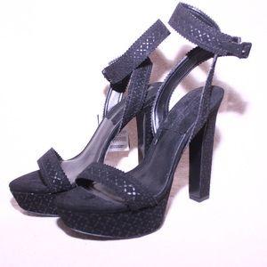 Sexy Zara Strappy leather heels