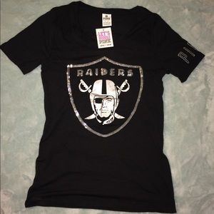 VS Pink Raiders Shirt! Limited Edition!