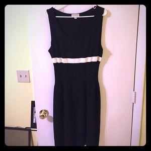 St. John Sport black dress - size L.