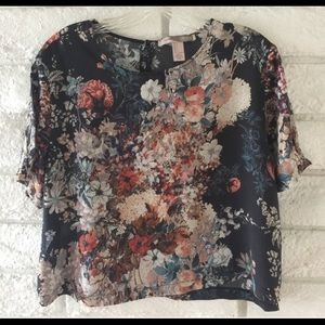 Soft floral shirt from Forever 21