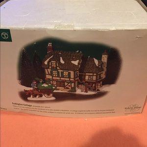 Dept 56 Dickens Villages Codington  cottage  2 pcs