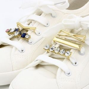 56c14ea2503cee Accessories | Hp Rhinestone Pearl Shoelace Charms 9 Designs | Poshmark