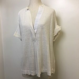 Malene Birger Silk Panel Trim Blouse