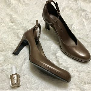 👑 Antonio Melani Copper Heels With Strap