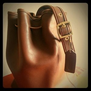 Coach shoulder bag Purse Vintage