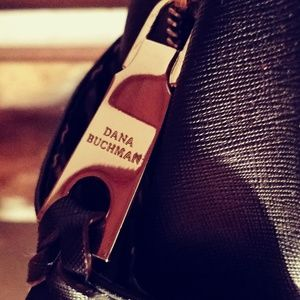 Dana Buchman leather handbag new