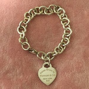 Return To Tiffany's Heart Tag Charm Bracelet