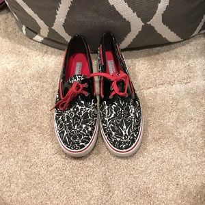 Brand new pattern Sperrys never been worn!