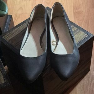 FOREVER 21 :| Pointed Toe Flats.GRAY.Women's:5.5.