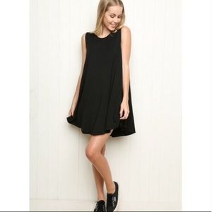 Brandy Melville Black Tent Dress