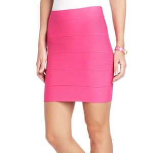 M BCBGMAXAZRIA SIMONE POWER SKIRT BODYCON BANDAGE