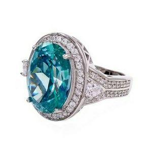 Savvy Cie tourmaline 925 ring