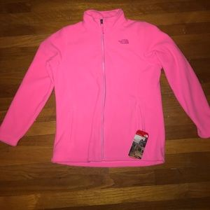 NWT Pink North Face Jacket Girls XL (18)