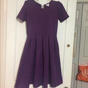 Lularoe SOLID! Purple Medium Amelia