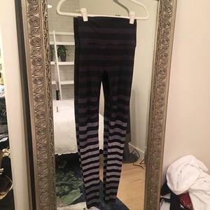 "Pants - KDeer Medium ""Jody Stripe"" Yoga Legging"