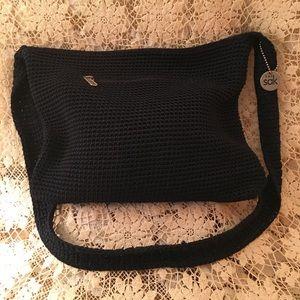 The Sak Crocheted Black Crossbody Bag NWOT
