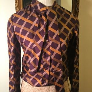 Salvatore Ferragamo SILK tailored blouse Must have