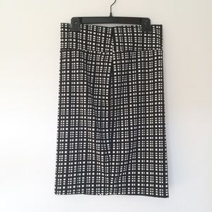 Lularoe Cassie Check Pattern Skirt