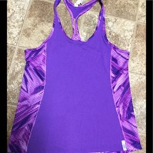 Under Armour Heatgear Racerback Tank Size Small
