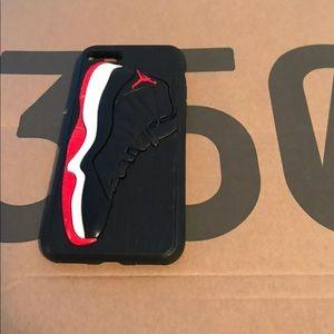 quality design 07b43 c38a0 Air Jordan Accessories - Jordan 11 Bred iPhone 6 6s 6+ 6s+