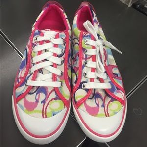 Authentic & Brand new multicolored Coach sneakers