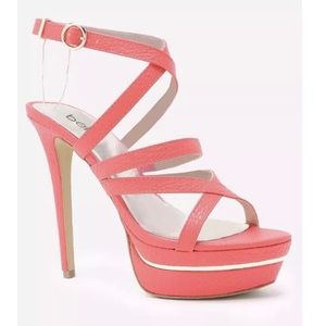 Bebe Coral Sandal Heel