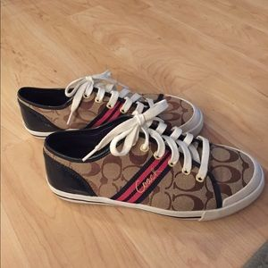 Coach sneakers in size 7.5