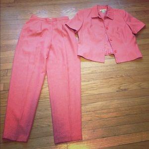 Judith Hart pants and jacket