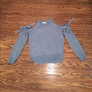 NWT! Milly Tie sleeve pullover